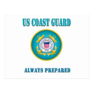 US Coast Guard Always Prepared Postcard