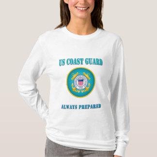 US Coast Guard Always Prepared T-Shirt