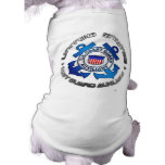 US Coast Guard Auxiliary Doggie T-shirt