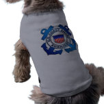 US Coast Guard Auxiliary Doggie Tee Shirt
