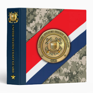 US Coast Guard Binder