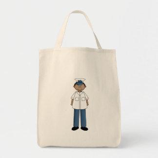 US Coast Guard Boy Tote Bags