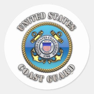 US Coast Guard Classic Round Sticker