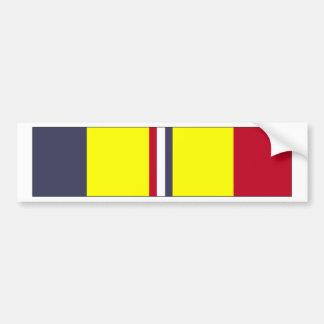 US Coast Guard Combat Action Ribbon Bumper Sticker