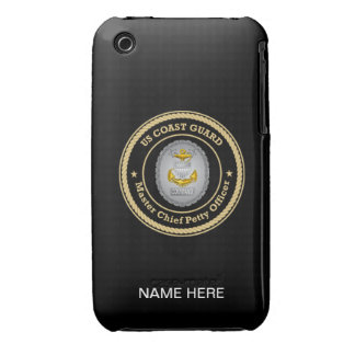 US Coast Guard Command Master Chief Petty Officer Case-Mate iPhone 3 Case