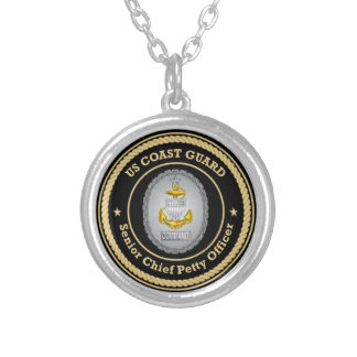 US Coast Guard Command Senior Chief Petty Officer Necklaces