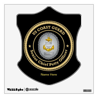 US Coast Guard Command Senior Chief Petty Officer Room Graphic