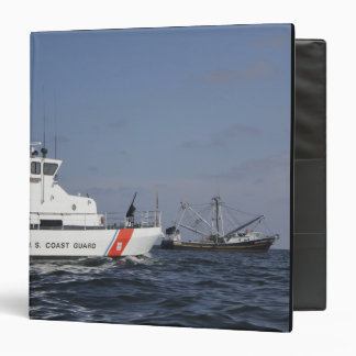 US Coast Guard Cutter Marlin patrols the waters Binder