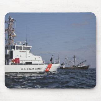US Coast Guard Cutter Marlin patrols the waters Mouse Pad