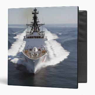 US Coast Guard Cutter Waesche 3 Ring Binder