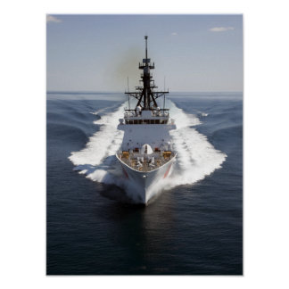 US Coast Guard Cutter Waesche Poster