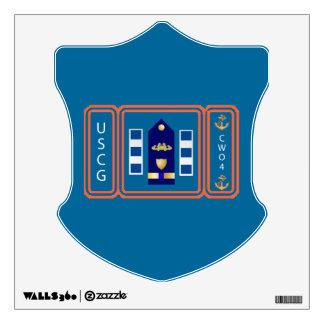 US Coast Guard CWO4 PORT SECURITY Wall Sticker