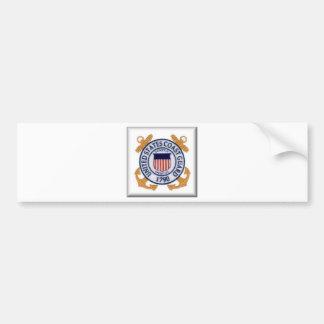 US Coast Guard Emblem1 Bumper Sticker