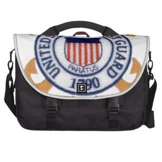 US Coast Guard Emblem1 Laptop Commuter Bag