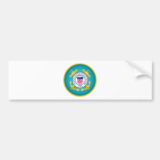 US Coast Guard Emblem Bumper Sticker