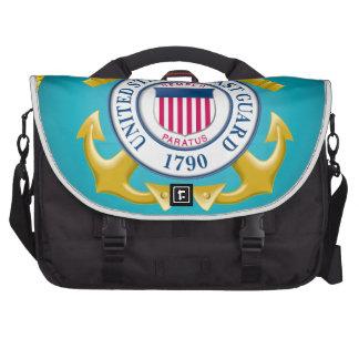 US Coast Guard Emblem Laptop Bags
