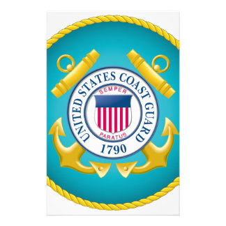 US Coast Guard Emblem Stationery