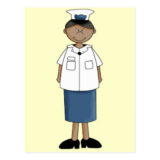 US Coast Guard Girl Postcard