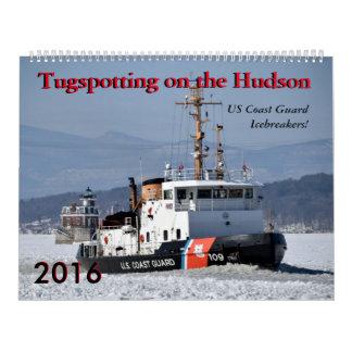 US Coast Guard Icebreakers 2016 Calendar