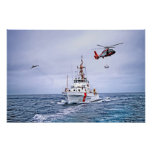 US Coast Guard in Action Posters