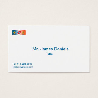 US Coast Guard Lieutenant Commander Shield Business Card