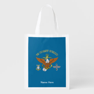 US Coast Guard Master Chief AMT Grocery Bag