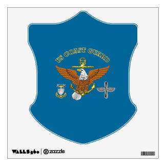 US Coast Guard Master Chief AMT Wall Decal