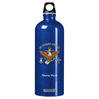 US Coast Guard Master Chief AMT Water Bottle