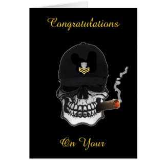 US Coast Guard Petty Officer First Class Greeting Card