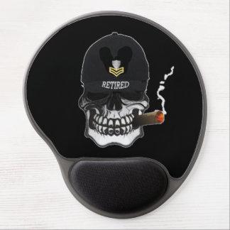US Coast Guard PO1 Scull Cigar Gel Mouse Pad