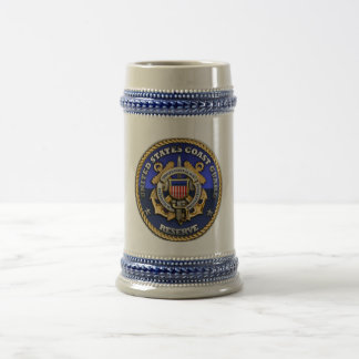 US Coast Guard Reserve Beer Stein