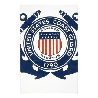 US Coast Guard Seal Gift Stationery