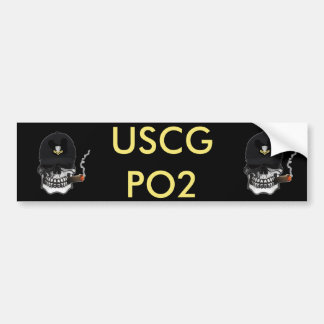 US Coast Guard Second Class Petty Officer Bumper Stickers