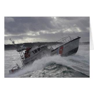 US Coast Guard Ship Patrolling Card