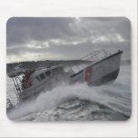 "US Coast Guard Ship Patrolling Mouse Pad<br><div class=""desc"">This is a photograph of a US Coast Guard Ship that is patrolling.</div>"