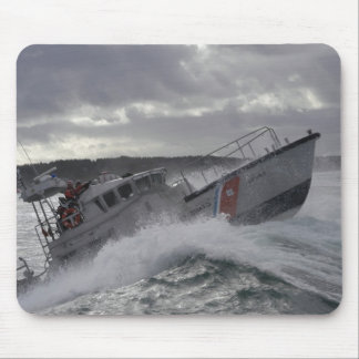 US Coast Guard Ship Patrolling Mouse Pad