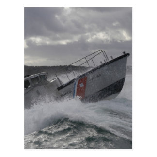 US Coast Guard Ship Patrolling Postcard
