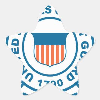 US Coast Guard Star Sticker