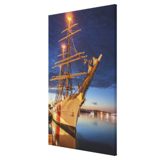 US Coast Guard Tall Ship Canvas Print