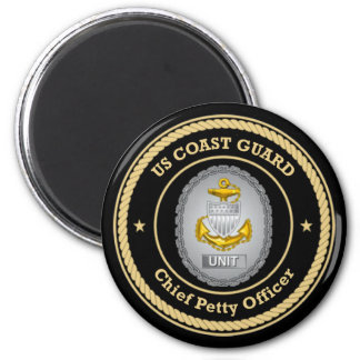 US Coast Guard Unit Chief Petty Officer Magnet