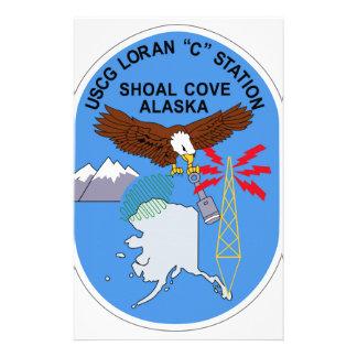 US COAST GUARD USCG LORAN C STATION Shoal Cove Ala Stationery Paper