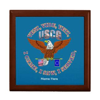 US Coast Guard Veteran VVV Shield Gift Boxes