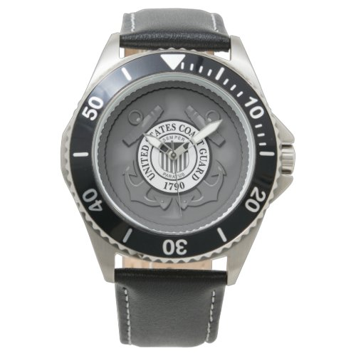 US Coast Guard Wrist Watch