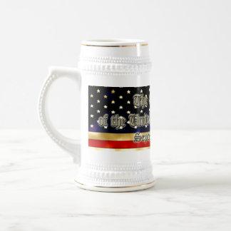 US Constitution 18 Oz Beer Stein