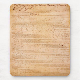 US CONSTITUTION American History Mousepad