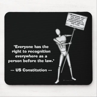 US Constitution: Article 6 Mouse Pad