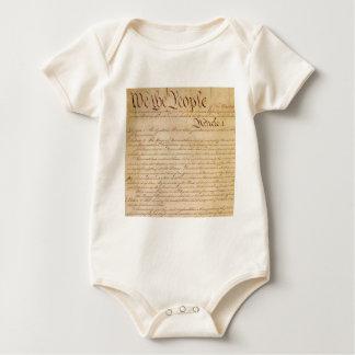 US CONSTITUTION BABY BODYSUIT