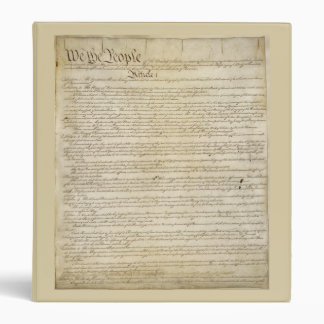 US Constitution Binder