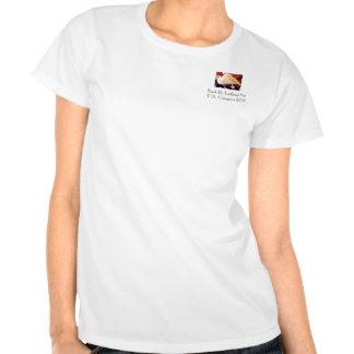 us_constitution_flag, conde R. Lofland For los Camisetas
