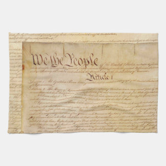 US CONSTITUTION HAND TOWEL